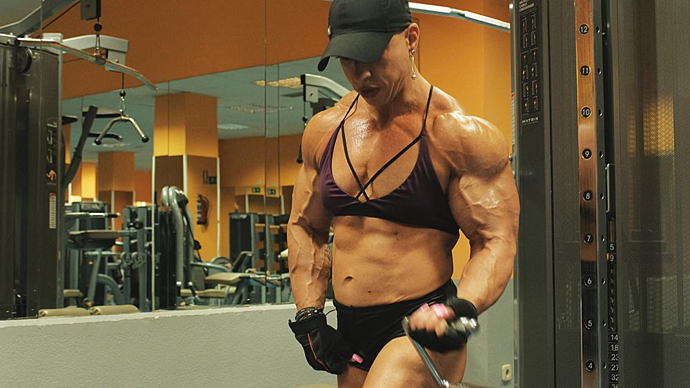 Virginia sanchez 2017 fit vids female bodybuilding videos - Virginia sanchez ...