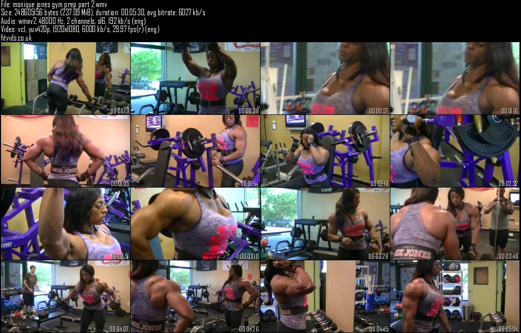 monique jones gym prep part 2