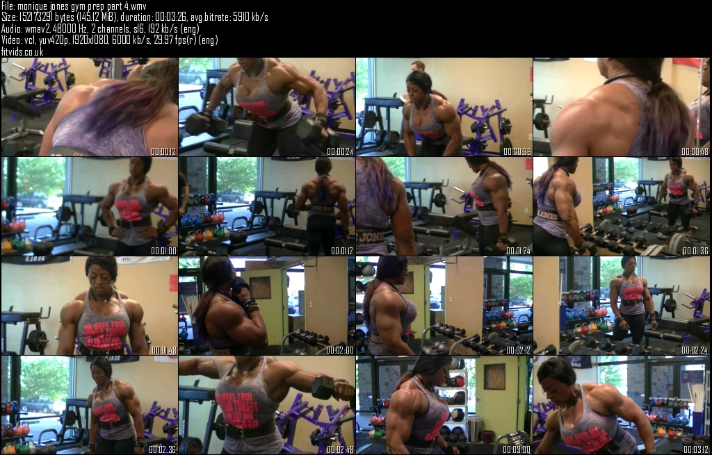 monique jones gym prep part 4